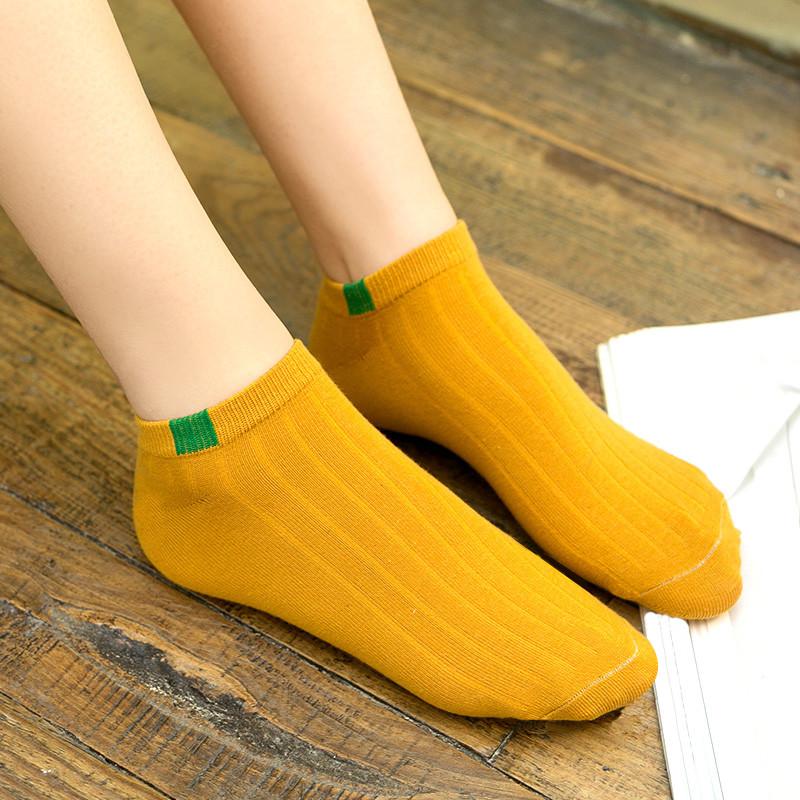 袜子女ins潮短袜浅口可爱春夏棉袜船袜女硅胶防滑夏季薄款隐形袜